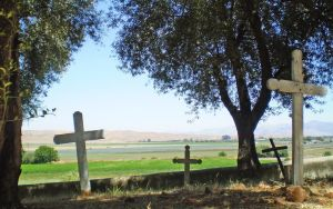 San Juan Bautista Cemetery by Fritters