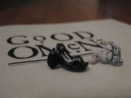 Good Omens Earrings by AwesomeTikiWiki