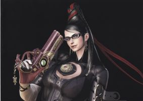 Bayonetta by shirlmuse