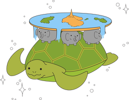 The Cute A'Tuin by bandaid-l0ve