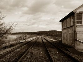 Traintracks revisited. by rockets-fall