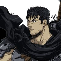 Digital Sketch Warm Up 03 - Guts by Vostalgic