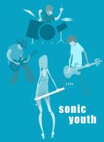 Sonic Youth by shootspeedkilllight