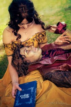 Happy Rumbelle moment :) by giusynuno