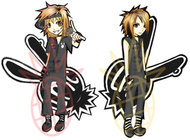 LM.C keychains by PineappleCookie