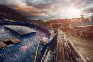 Boat Cemetery by Cosmas