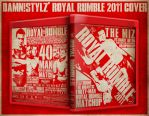 Royal Rumble 2011 BluRay Cover by Mr-Damn