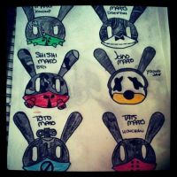 B.A.P Matoki drawings. Colored. by TwisterWithEunHae
