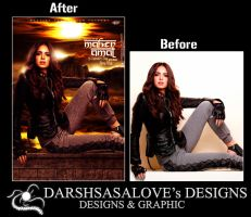 Amal Maher Before and After by DARSHSASALOVE