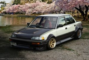 Honda Civic Sedan '86 by Hossworks