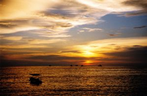 Pangkor sunset by krigl