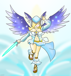 Rosalina: Valkyrian Angel by Xero-J