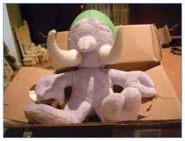 WIP WoW plush troll by restlesswillow