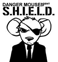 Danger Mouse Agent Of SHIELD by bighatdino