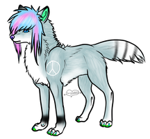 1 Point Scene Wolf Adoptable Closed by Sicila