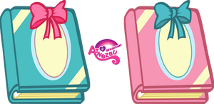 His and Her Scrapbooks by atnezau