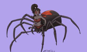 Day 06- Spider Girl by jillybean200x