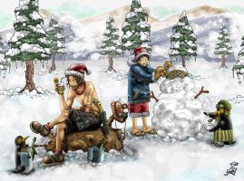 Chopper+Winter entry no. 4 by OnePieceUnlimited