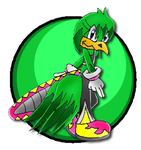 Reggie the Quetzal channel by PetitMoon5