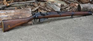 British No1 Mk3 Lee Enfield by PLutonius