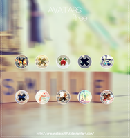 Icons |free| by DreamsBeautiful
