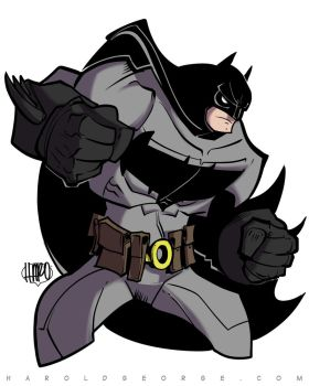 A remake of a Batman Commission Turlock Comic Con by haroldgeorge-gsting