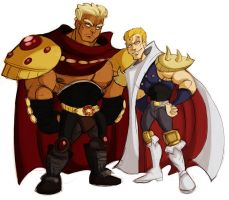 fotns - raoh and souther 2 by spoonybards