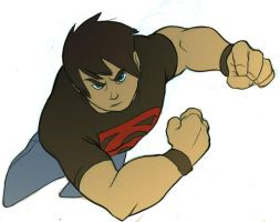 Superboy SMASH by pkzombie
