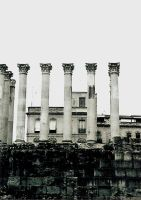 Ruins in Cordoba by Artimise