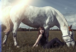 WhiteHorse by EleGold