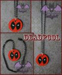 Deadpool Pendant by Hatter2theHare