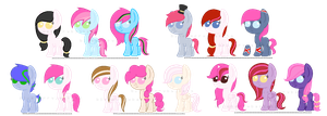 [long overdue!] Strawberry breedable foals- open by caecii