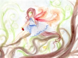 Lily, The Wood Fairy. by Berichan