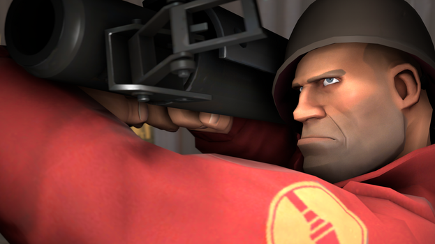 [TF2] Soldier Shooting Realisticly by yournameduh