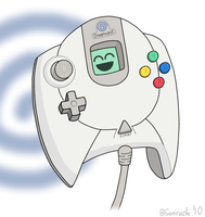 Dreamcast Controller by BSonirachi