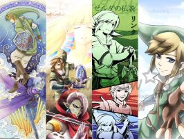 Legend Of Zelda Skyward Sword Bookmark prints by PepperMoonFlakes