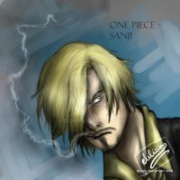 One Piece - Sanji (two years after) by Elilian