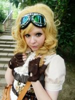 Steampunk Lolita Portrait by Take-Ru
