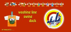 washing line swing dock by coolcat21