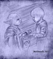 """""""Take this, you should."""" by Meltintalle"""
