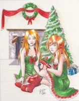 Christmas Contest Entry by suicidevegie