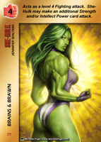 She-Hulk Special - Brains And Brawn by overpower-3rd
