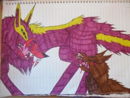 Cruelty of some Wolf Demons 2 by GreenGirl225