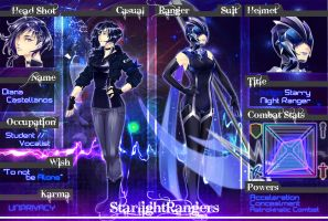 Starlight rangers: Catching Stars App - Diana by D-Artemisatto
