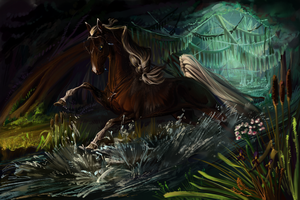 ||Queen of the Green river|| by The-Day-of-Shadow