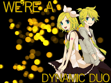 Wallpaper Vocaloid Rin and Len by sakuradreamer