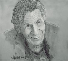 The light of Leonard Nimoy by Nagini-snake