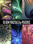Gem Fractal Pack by JU5TPeachy
