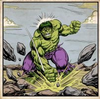 Incredible Hulk - 1970s by Simon-Williams-Art