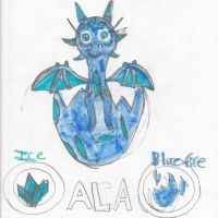 Ala the baby dragoness by nyro1